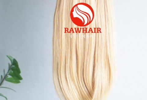 Blonde Straight Machine Weft Hair