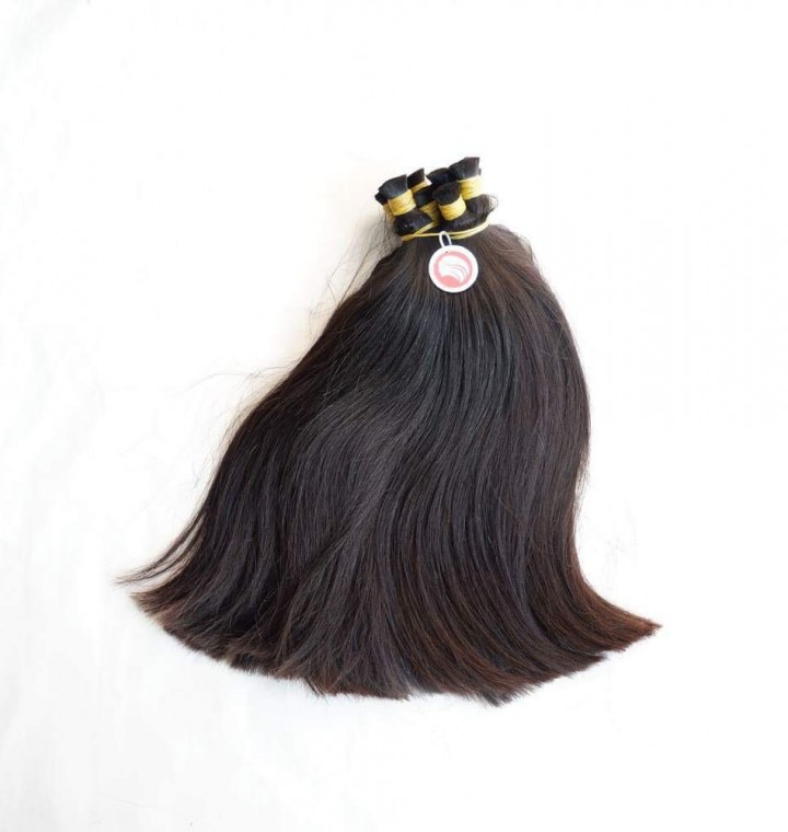Straight Double Drawn Bulk Hair