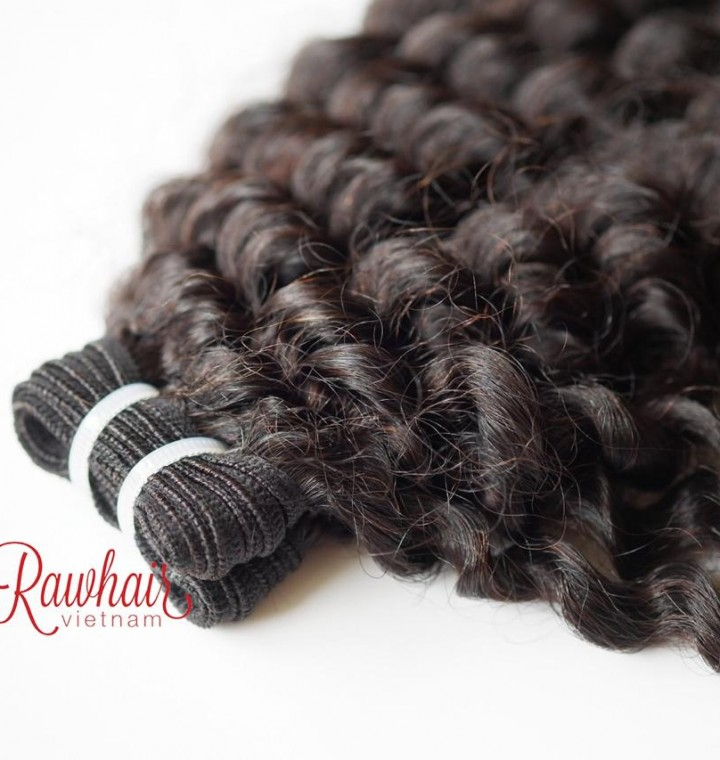 Curly Super Double Drawn Machine Weft Hair