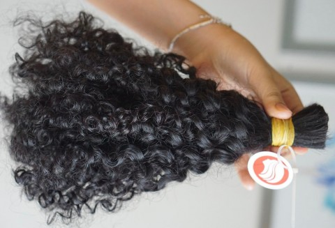 Curly Super Double Drawn Bulk Hair