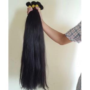 Straight Super Double Drawn Bulk Hair