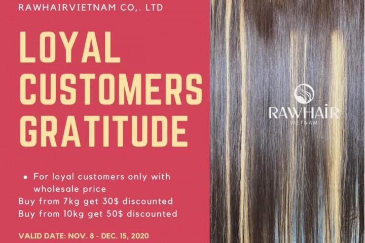 Loyal Customers Gratitude