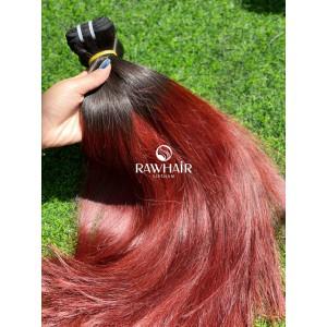 Burgundy & Red Hair